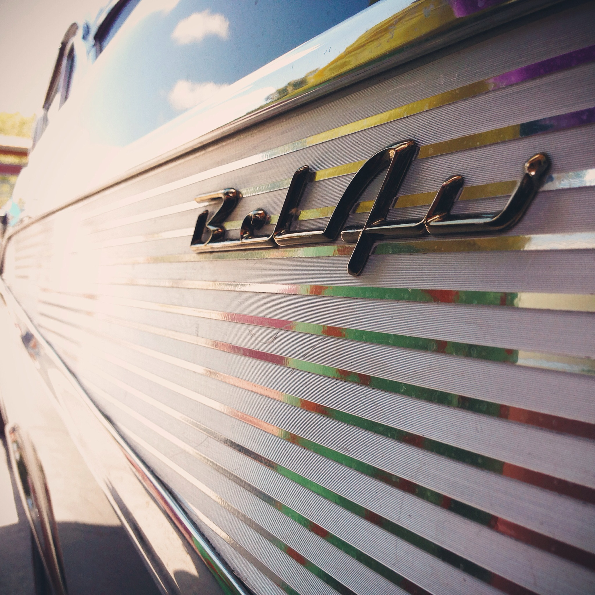 Bel Air logo detail