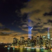 9/11 Memorial lights | Blurbomat.com