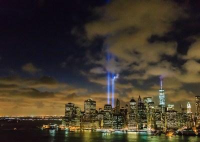 9/11 Memorial lights   Blurbomat.com