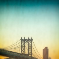 Manhattan Bridge from my Work window view | Blurbomat.com