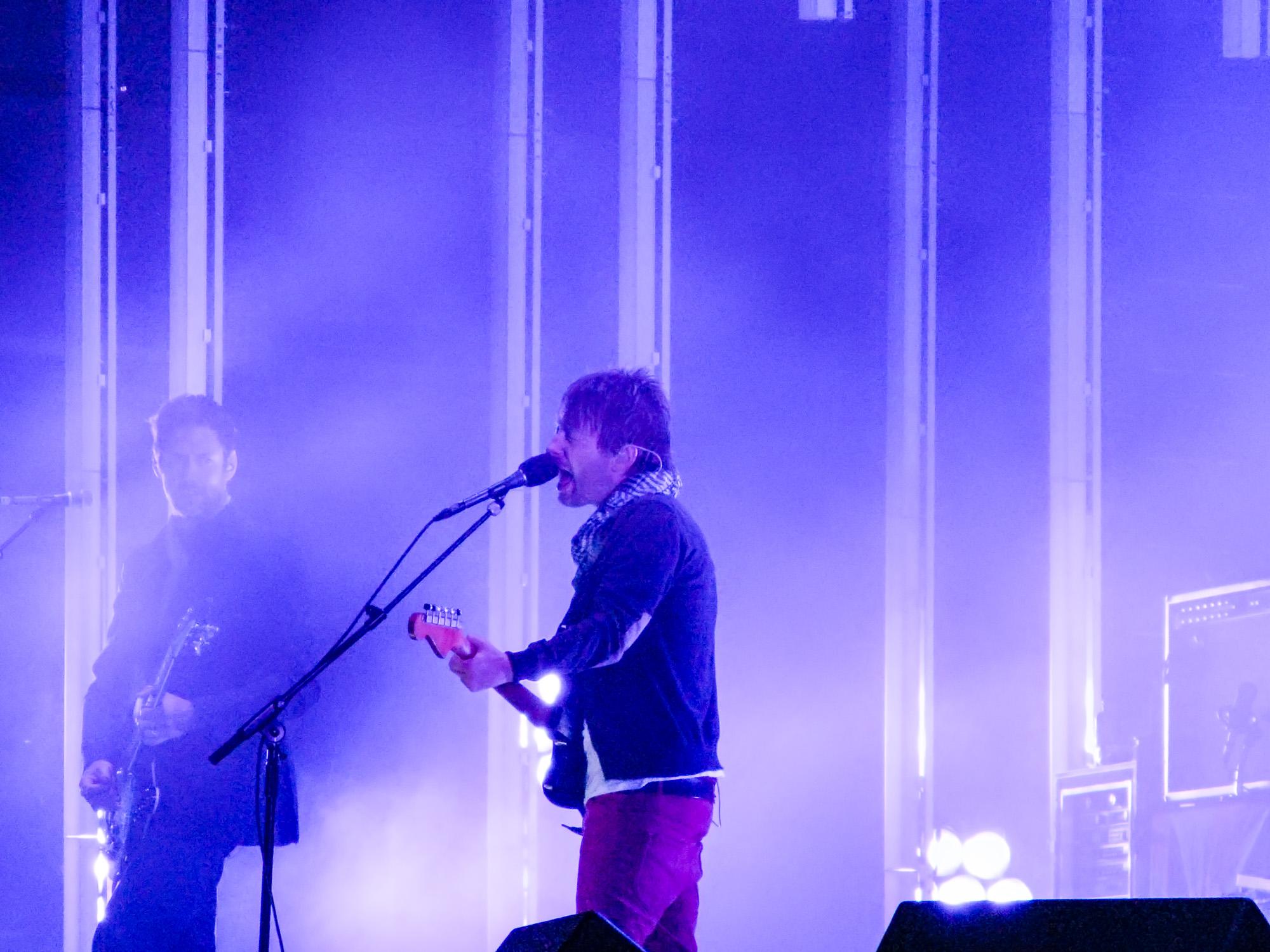 Thom Yorke of Radiohead, Outside Lands, 2008
