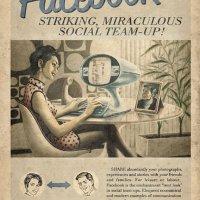 Retro/ Vintage Social Media Propoganda Posters