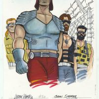 "Exclusive Look As IDW Limited Preps Fans For ""G.I. JOE: THE COMPLETE COLLECTION Vol.3"" With Original Sketches By Larry Hama/ Hand Inked & Colored By Brian Shearer"