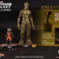 "Sideshow Collectibles Expands Their Movie Masterpiece Series With ""Rocket & Groot"" From Marvel's ""Guardians Of The Galaxy"""