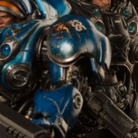 Sideshow Collectibles Delves Further Into Blizzard's StarCraft II With Raynor and Tychus 6th Scale Figures
