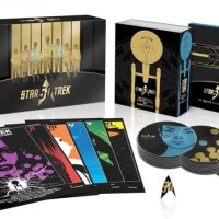 Celebrate The 50th Anniversary Of Star Trek With This Gargantuan 30-Disc Blu-Ray Set!
