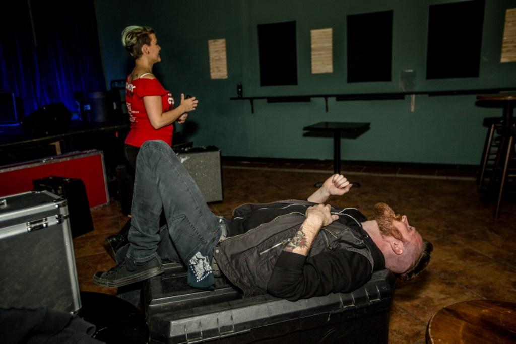 A Pre-Show Meltdown | Photo by Cortney Armitage