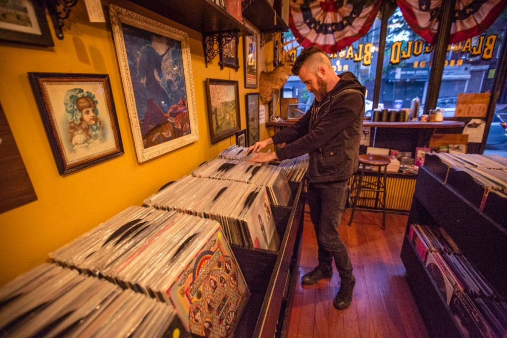 Quick Trip To Black and Gold Records | Photo by Cortney Armitage