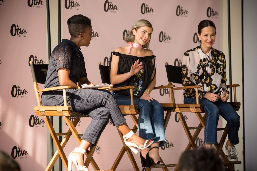Cynthia Rowley, Kit Keenan and Nikki Ogunnaike at The Other Festival 2016 | Photo by Cortney Armitage