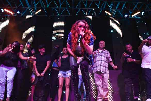 Faith Evans at L.A. Pride 6/10/16. Photo by Derrick K. Lee, Esq.