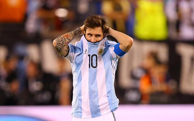 Lionel Messi says he's retiring from international play