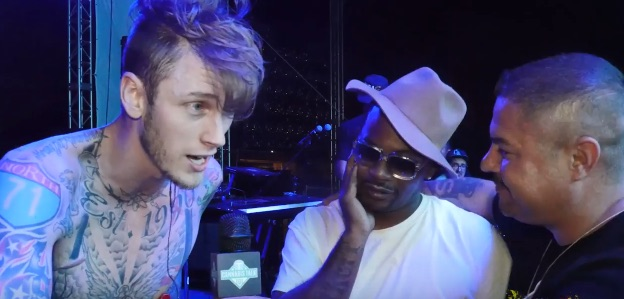 Machine Gun Kelly Talks New Project with Chief Keef