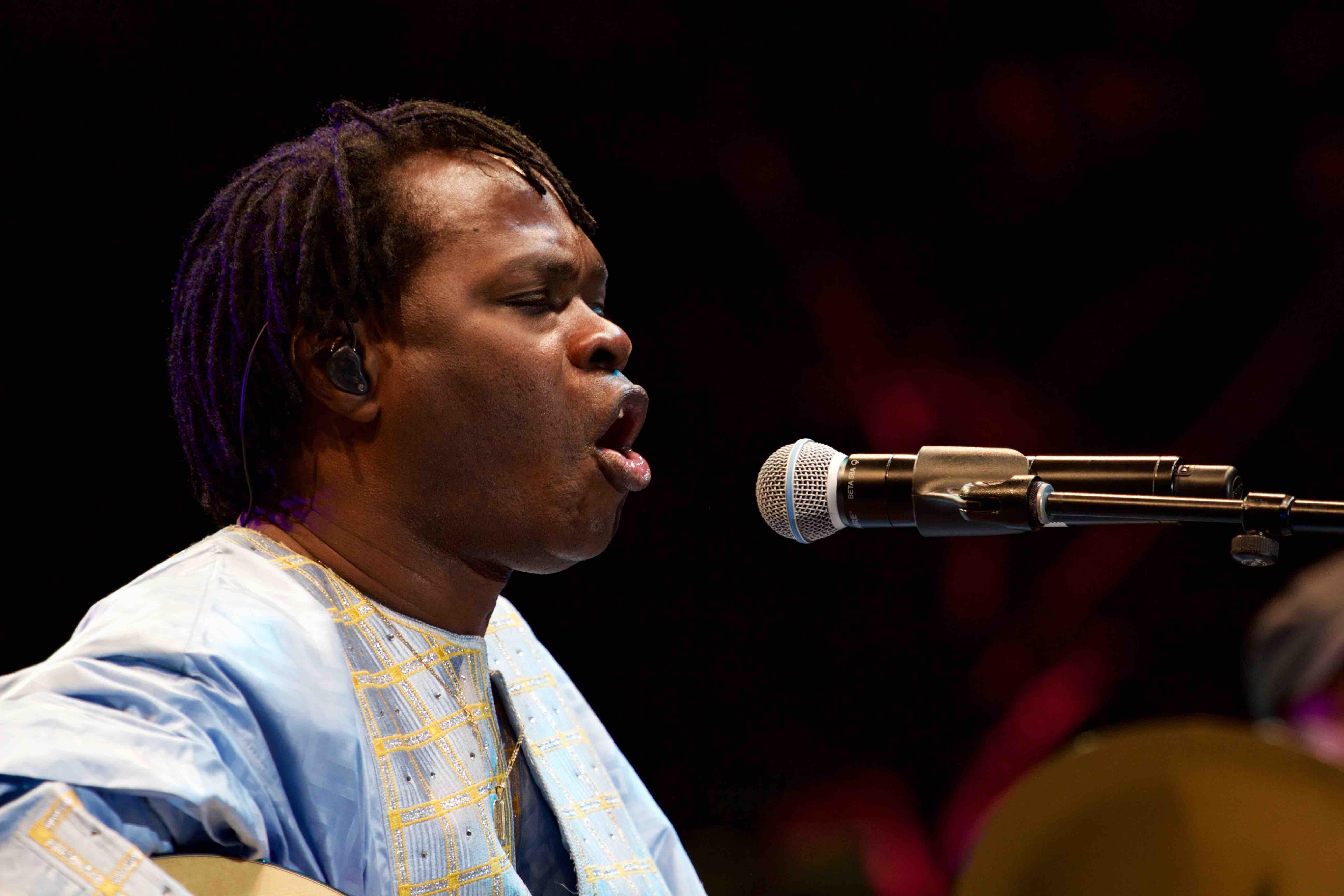 """Baaba Maal at KRCW/Annenberg's """"Sound In Focus"""" 7/16/16. Photo by Derrick K. Lee, Esq. (@Methodman13)"""