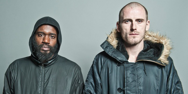 "WATCH DEATH GRIPS' NEW VIDEO FOR ""GIVING BAD PEOPLE GOOD IDEAS"""