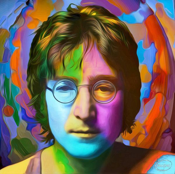 John Lennon's First Acid Trip as an animated short
