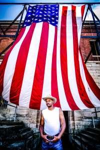 Son Little at Newport Folk Festival 7/24/16. Photo by Cortney Armitage (@CortneyArmitage) for www.BlurredCulture.com.