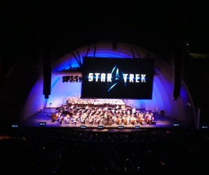 Star Trek- In Concert @ Hollywood Bowl. Photo Credit - Krista at www.ladybugblog.com. Used with permission.