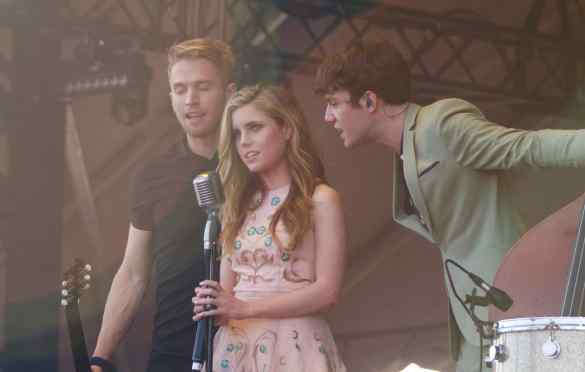 Echosmith at KAABOO 2016, September 16th. Photo by Derrick K. Lee, Esq. (@Methodman13) for www.BlurredCulture.com.