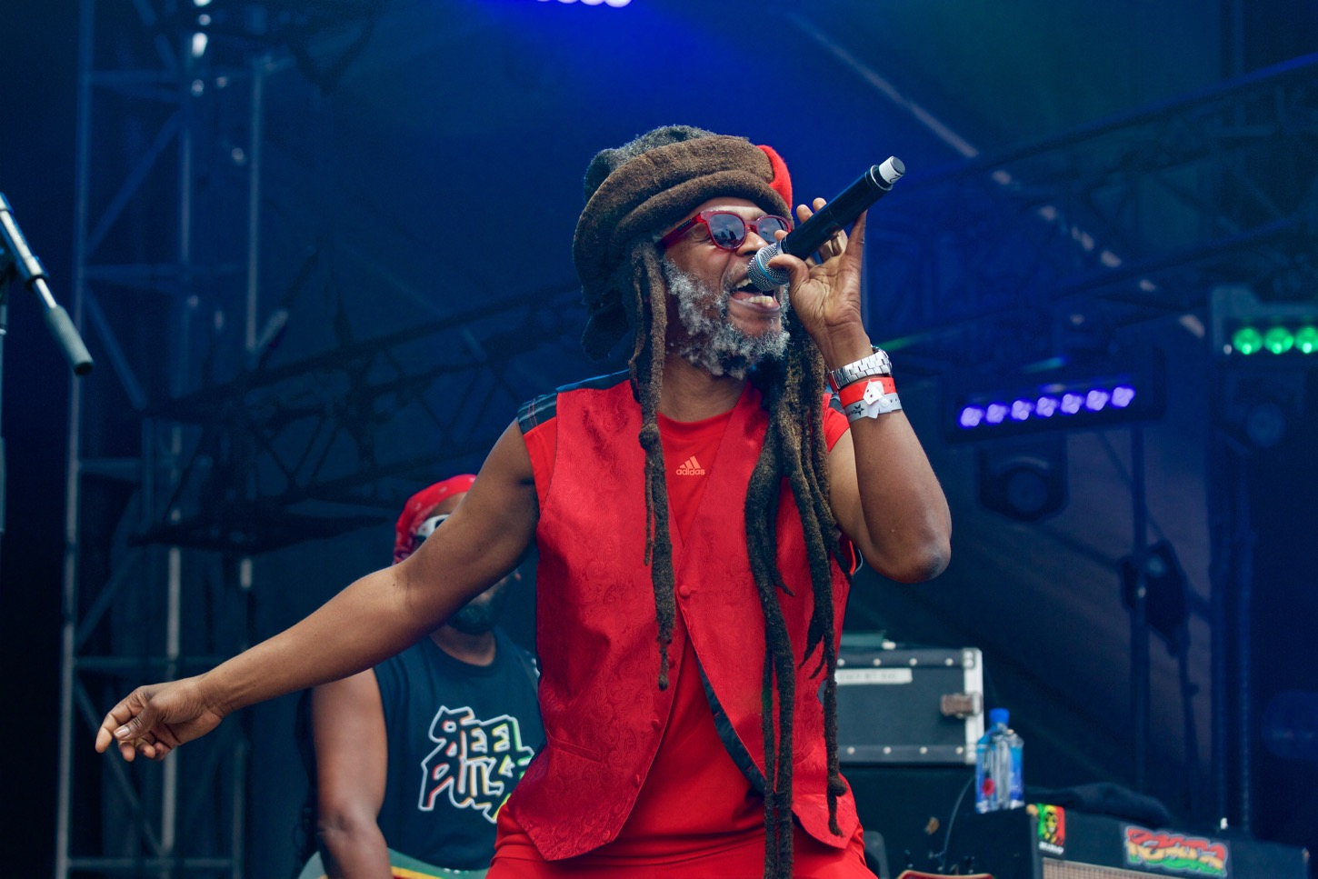 Steel Pulse at KAABOO 2016, September 17th. Photo by Derrick K. Lee, Esq. (@Methodman13) for www.BlurredCulture.com.