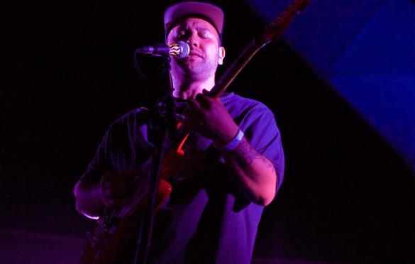 Unknown Mortal Orchestra at Santa Monica Pier's Twilight Concert 9/1/16. Photo by Derrick K. Lee, Esq. (@Methodman13) for www.BlurredCulture.com.