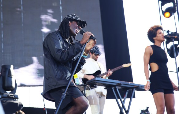 Blood Orange 8/28/16 @ Fuck Yeah Fest. Photo by Laura June Kirsch for FYF Fest. Used With Permission By www.BlurredCulture.com.