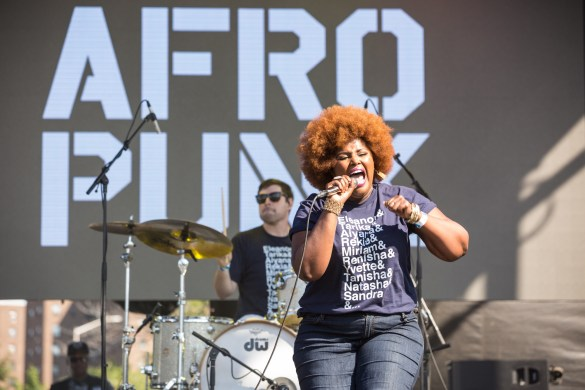 The Suffers at AFROPUNK FEST Brooklyn 2016 8/28/16. Photo by Cortney Armitage (@CortneyArmitage) for www.BlurredCulture.com.