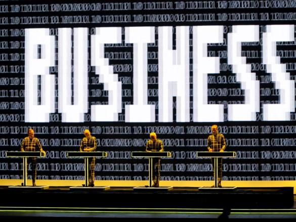Kraftwerk at the Hollywood Bowl 9/18/16. Photo by Justin Dingwall (@JustinsLens) for www.BlurredCulture.com.