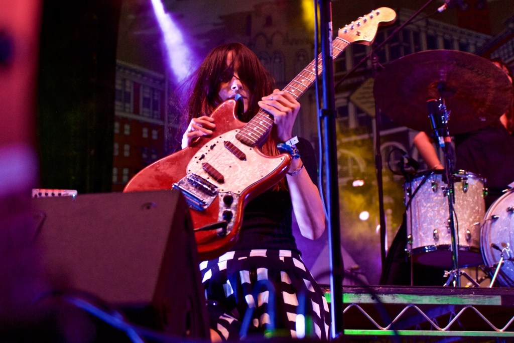 Warpaint at Music Tastes Good 2016, September 24th. Photo by Derrick K. Lee, Esq. (@Methodman13) for www.BlurredCulture.com.