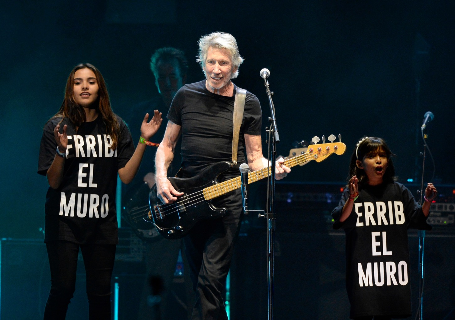 INDIO, CA - OCTOBER 16: Musician Roger Waters performs during Desert Trip at The Empire Polo Club on October 16, 2016 in Indio, California. (Photo by Kevin Mazur/Getty Images for Desert Trip). Used With Permission.