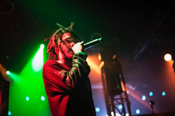 Kweku Collins @ The Echoplex 11/6/16. Photo by Angelina Paldzyan. (@angelinapaldzyan) for www.BlurredCulture.com. This photo was obtained under the express authorization and license by Red Bull Media House North America, Inc.