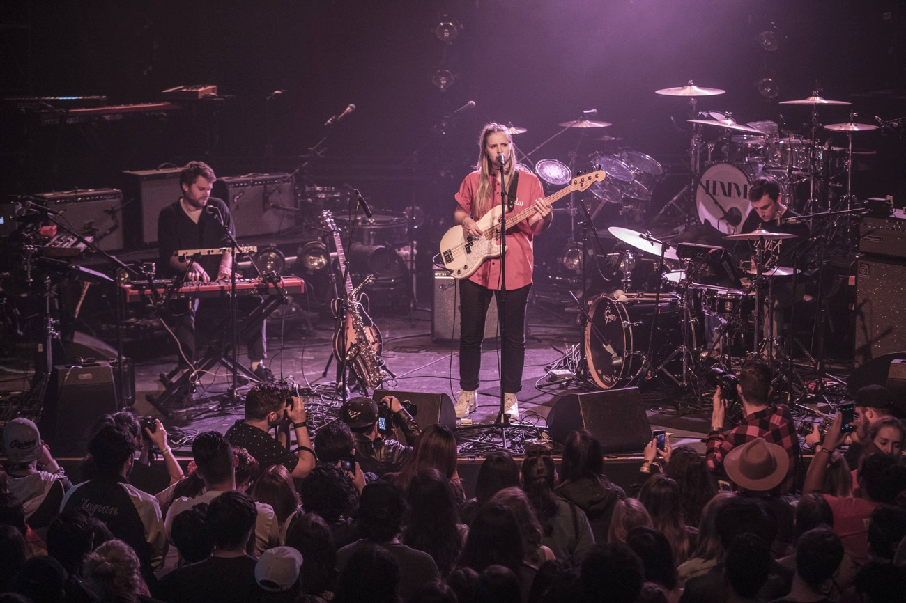 Charlotte Day Wilson at Fonda Theatre as part of Red Bull Sound Select Presents: 30 Days in LA, in Los Angeles, CA, USA 11/15/16 (Photo by Marv Watson for Red Bull Sound Select). Used With Permission.