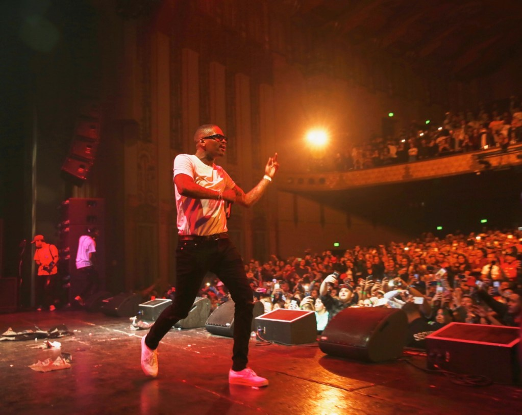 YG at The Wiltern as part of Red Bull Sound Select Presents: 30 Days in LA, 11/29/16 (Photo by Paul Carter for Red Bull Sound Select). Used With Permission.