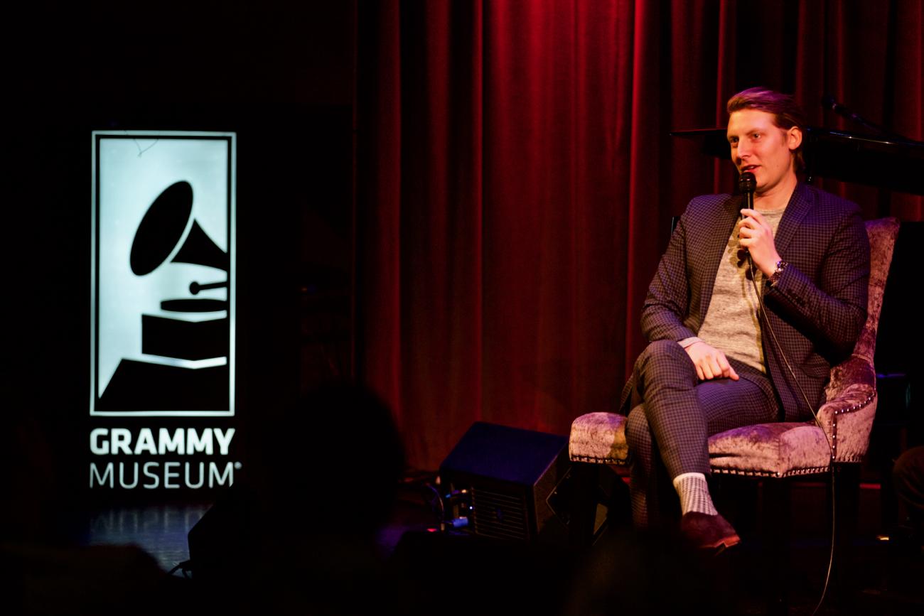 Eric Hutchinson Interview @ The Grammy Museum 1/25/17. Shot by Derrick K. Lee, Esq. (@Methodman13) for www.BlurredCulture.com.