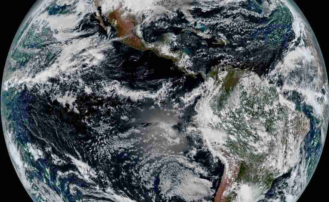 Satellite's 1st Views of Earth Are Jaw-Dropping