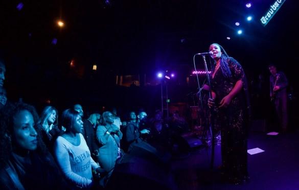 Lalah Hathaway & Friends @ Troubadour 2/10/17. Photo by Derrick K. Lee, Esq.(@Methodman13) for www.BlurredCulture.com.