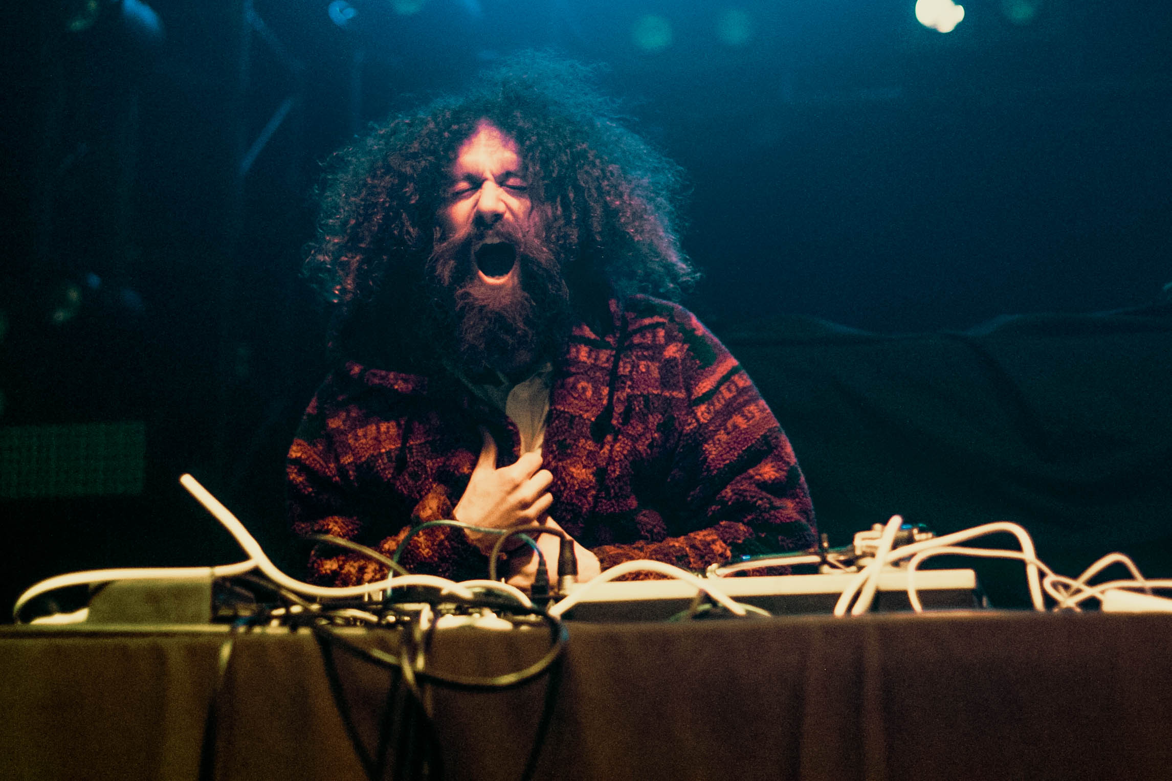 Gaslamp Killer @ Observatory North Park 1/30/17. Photo by Hector Vergara (@theHextron) for www.BlurredCulture.com.