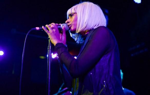 Rose Gold. Lalah Hathaway & Friends @ Troubadour 2/10/17. Photo by Derrick K. Lee, Esq.(@Methodman13) for www.BlurredCulture.com.