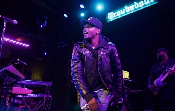 BJ The Chicago Kid. Lalah Hathaway & Friends @ Troubadour 2/10/17. Photo by Derrick K. Lee, Esq.(@Methodman13) for www.BlurredCulture.com.