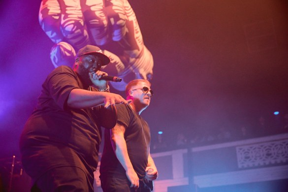 Run The Jewels @ Shrine Auditorium 2/1/17. Photo by David Benjamin (@iamdb) for www.BlurredCulture.com.
