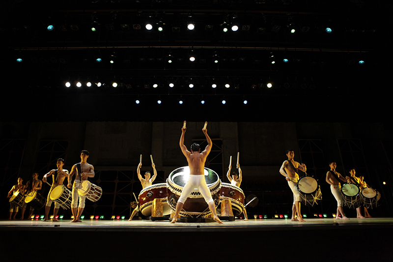 Kodo: Dadan. Photo courtesy of the Los Angeles Philharmonic. Used with permission.