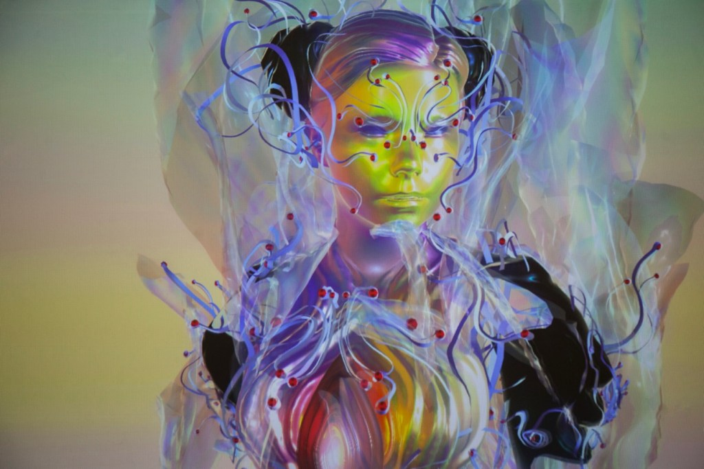 Bjork. Photo by Santiago Felipe. Courtesy of the Los Angeles Philharmonic. Used with permission.