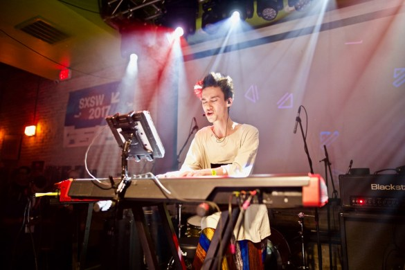 Jacob Collier @ Latitude 30 presented by BBC Radio 2, PPL & PRS // SXSW 3/15/2017. Photo by Derrick K. Lee, Esq. (@Methodman13) for www.BlurredCulture.com.