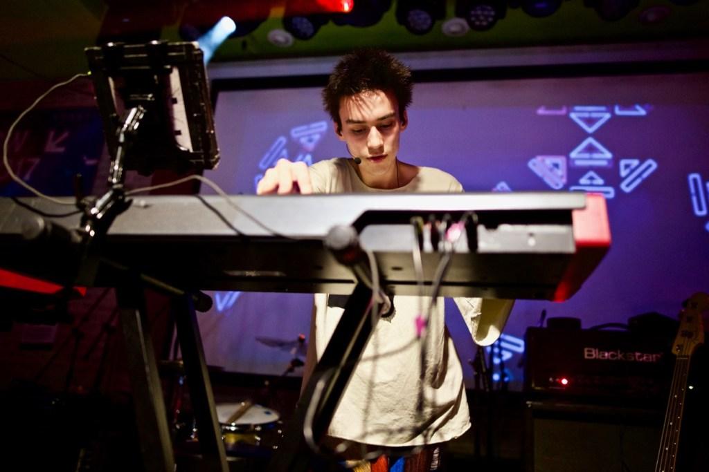 Jacob Collier @ Latitude 30 presented by BBC Radio 2, PPL & PRS // SXSW 3/15/2017. Photo by Derrick K. Lee, Esq. (@Methodman13) for www.BlurredCulture.com.