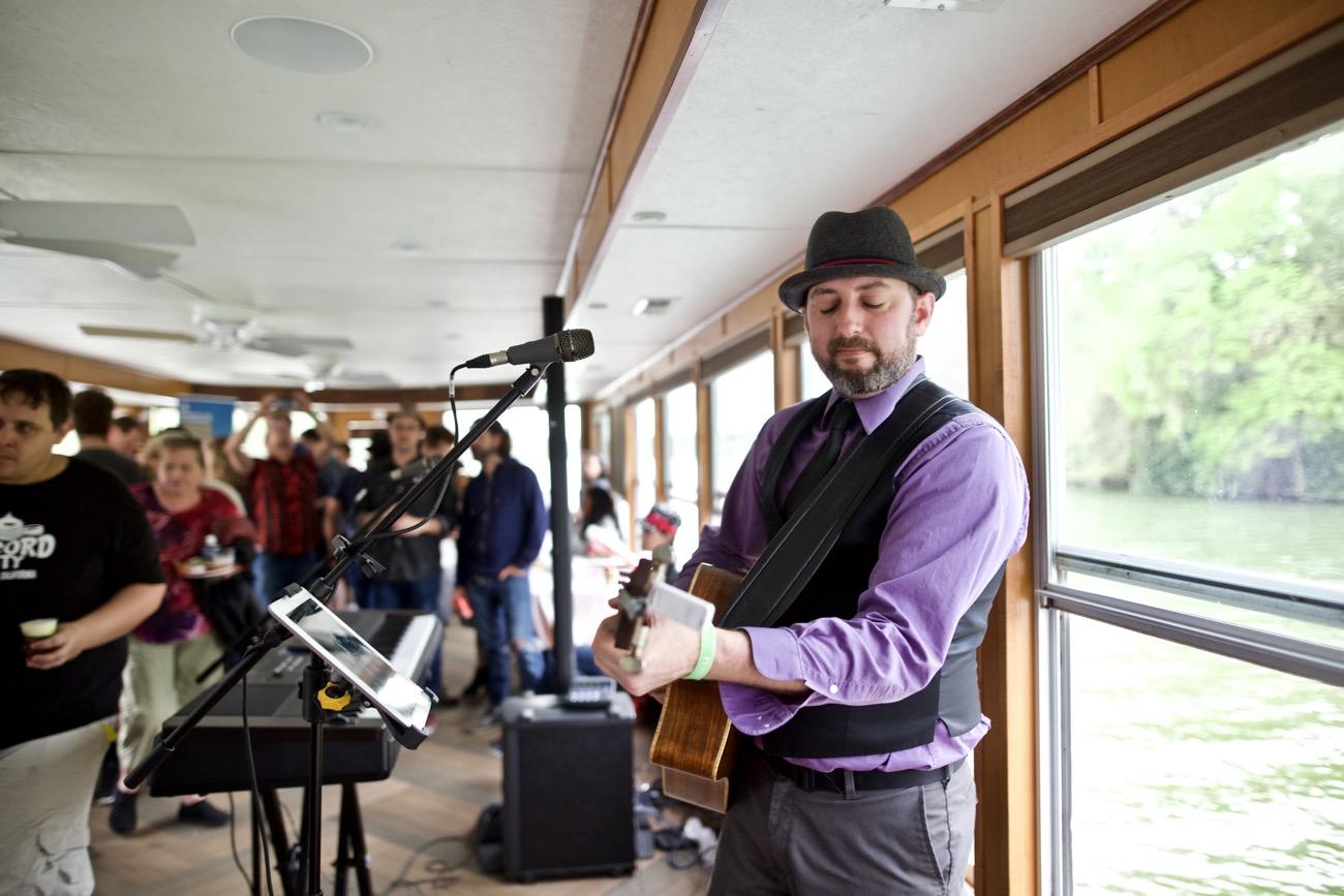 Eric Erdman // 30A Riverboat Cruise // SXSW 3/16/2017. Photo by Derrick K. Lee, Esq. (@Methodman13) for www.BlurredCulture.com.