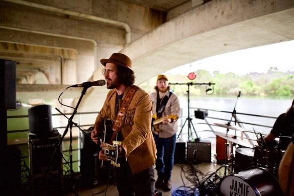 Jamie Kent Band // 30A Riverboat Cruise // SXSW 3/16/2017. Photo by Derrick K. Lee, Esq. (@Methodman13) for www.BlurredCulture.com.