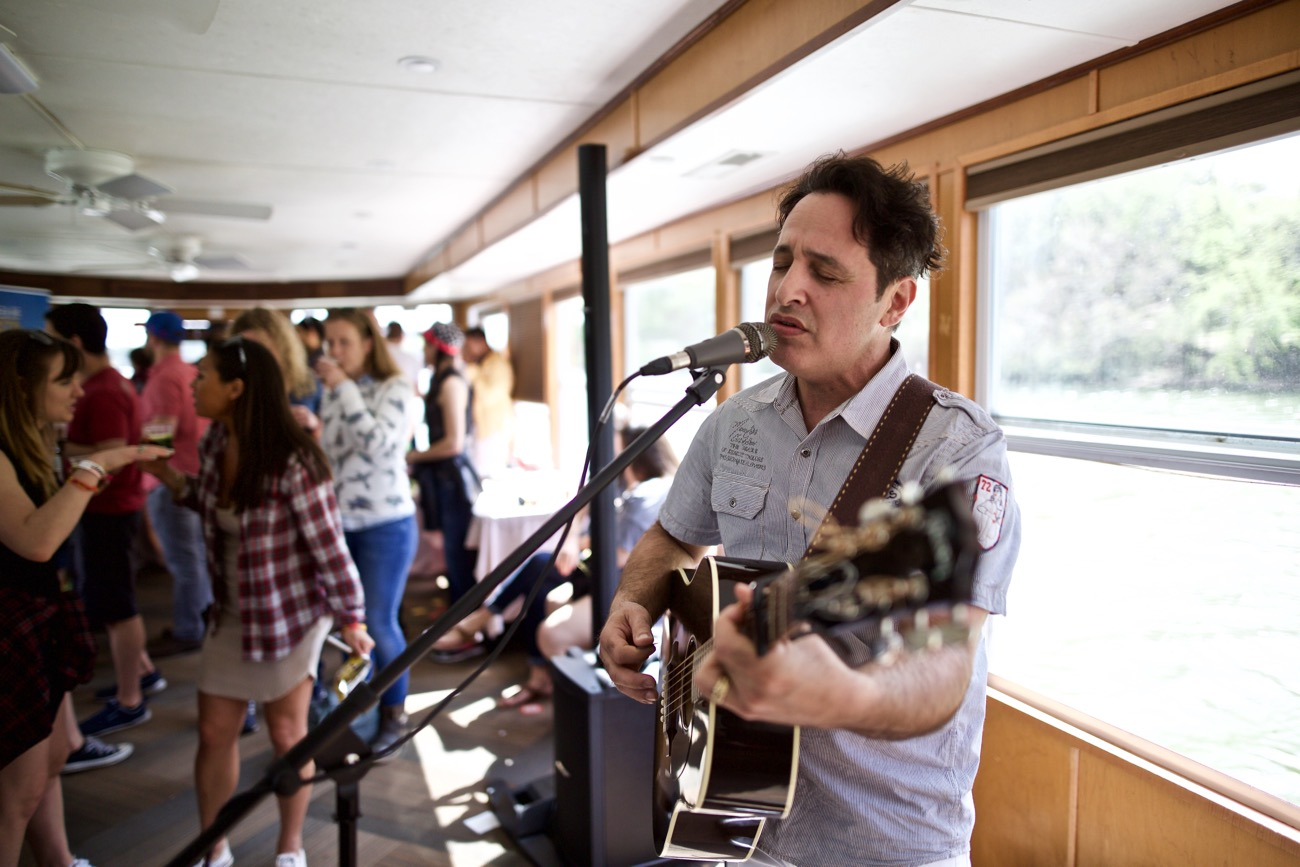Nick D'Virgilio // 30A Riverboat Cruise // SXSW 3/16/2017. Photo by Derrick K. Lee, Esq. (@Methodman13) for www.BlurredCulture.com.