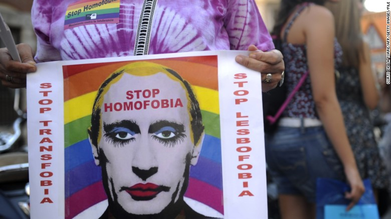 Russia Bans Images Depicting Putin As A Gay Clown