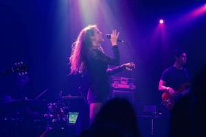 Chandler Juliet at theTroubadour 3/18/17. Photo courtesy of the artist. Used with permission.