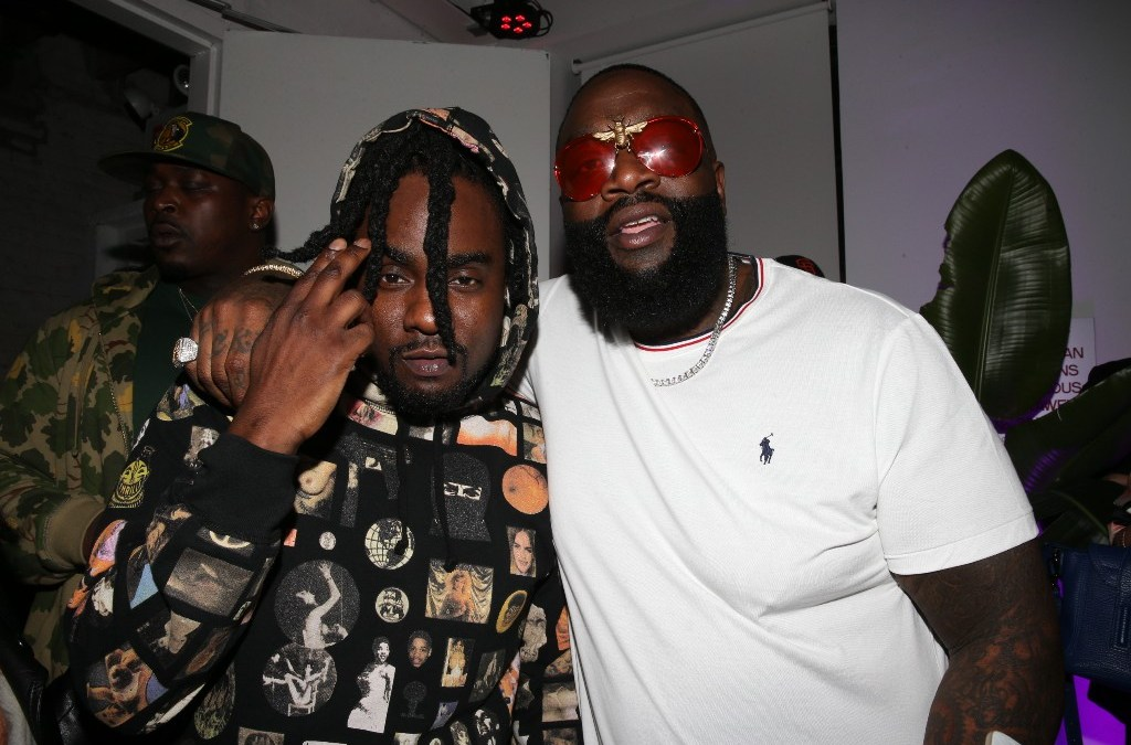 """Rick Ross, Young Thug & Wale Perform """"Trap Trap Trap"""" On The Tonight Show"""