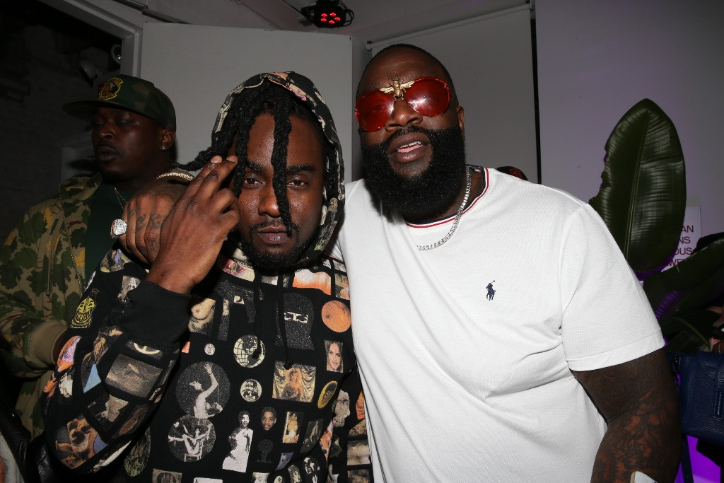 Rick Ross and Wale. Photo Credit: Shareif Ziyadat. Used with permission.